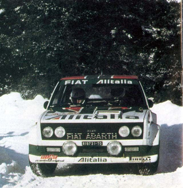 ford escort rs #5 monte carlo rally 1978